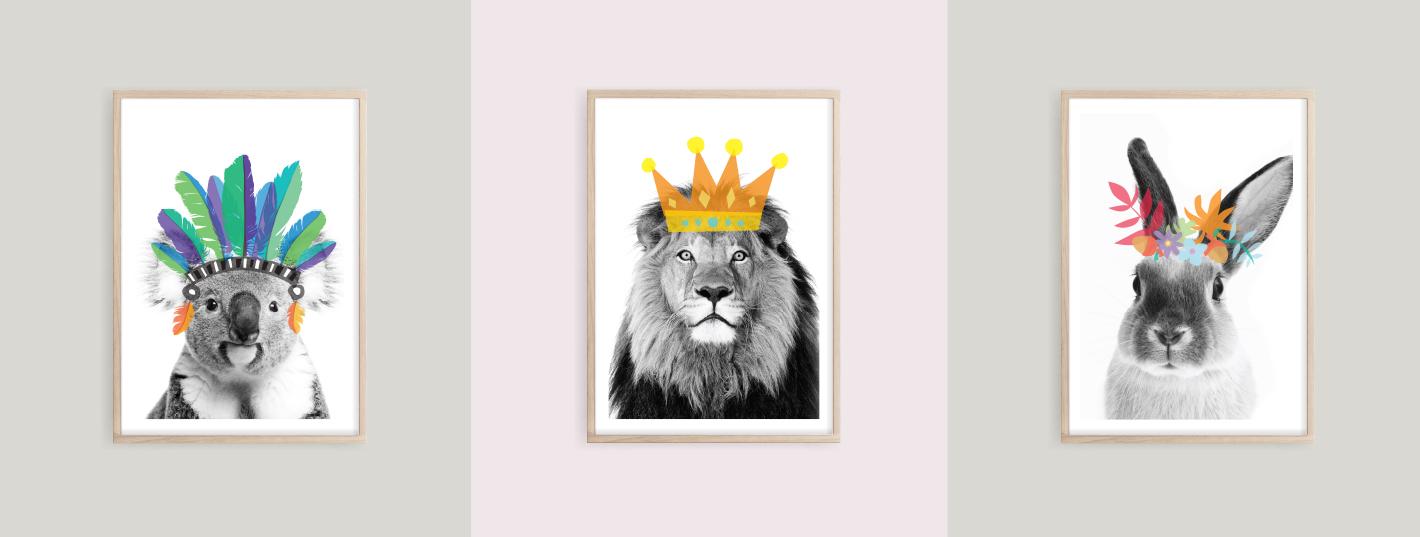Animal Antics Prints