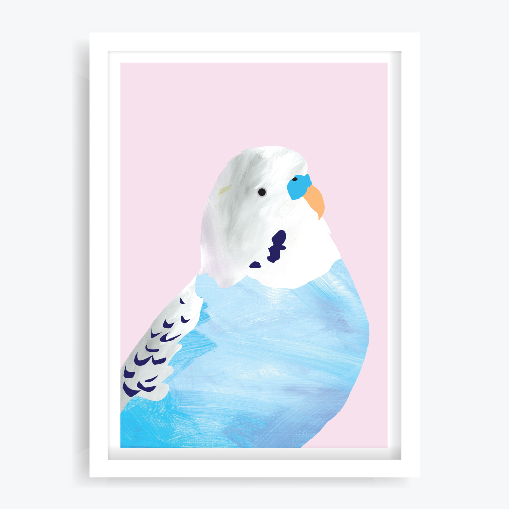 Pretty Boy Blue Art Print