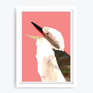 Laughing Kookaburra Art Print