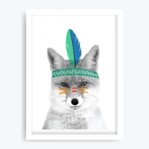 Little Big Feather Art Print