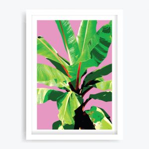 Banana Palms #1 Art Print
