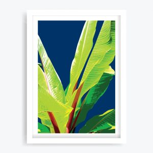Banana Palms #2 Art Print