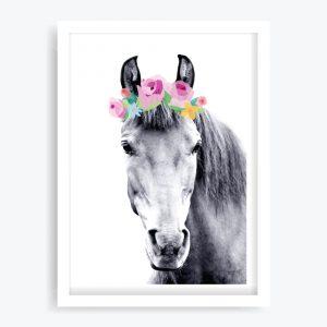 Rosie Pony Art Print