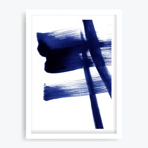Abstract Blue #1 Art Print