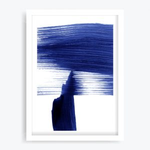 Abstract Blue #2 Art Print