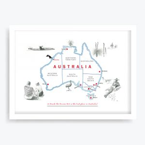 Best Place in Australia Custom Art Print