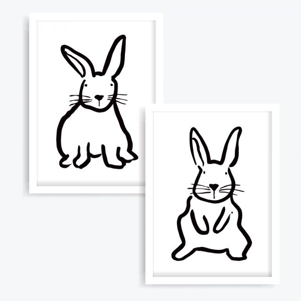 Flopsy & Mopsy Art Prints (set of 2)