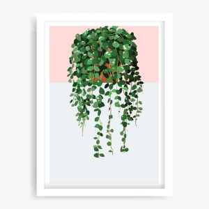String of Coins Art Print