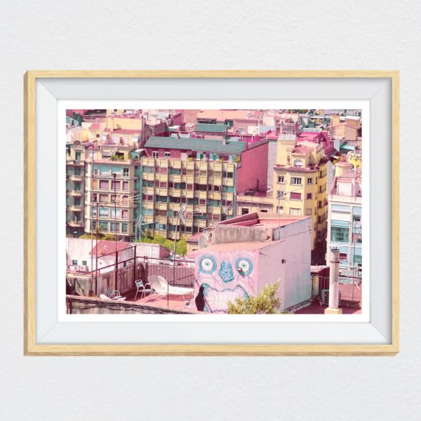 Wall Stickers Mondo.Barcelona Calling Wall Decal