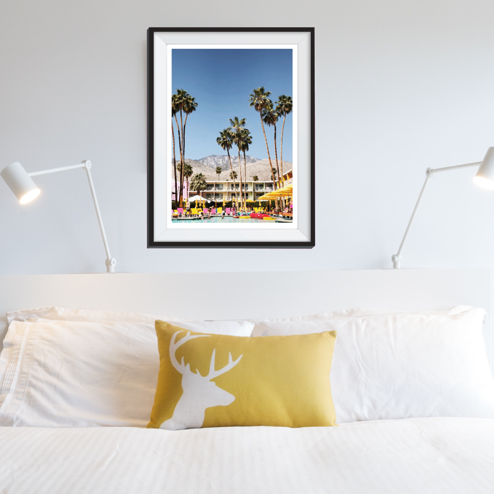 Palm Springs Wall Decal