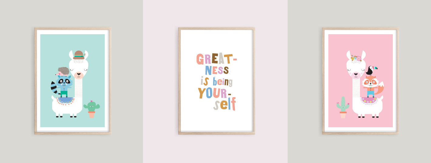 Prints for Girls